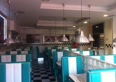 Detalle-iluminacion-American-Diner-Fuenlabrada